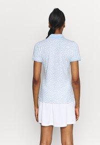 Kjus - WOMEN ENYA - Sports shirt - buttercream/cloud blue - 2