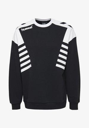 HIVE HMLCARL-OTTO SWEATSHIRT - Sweatshirts - black