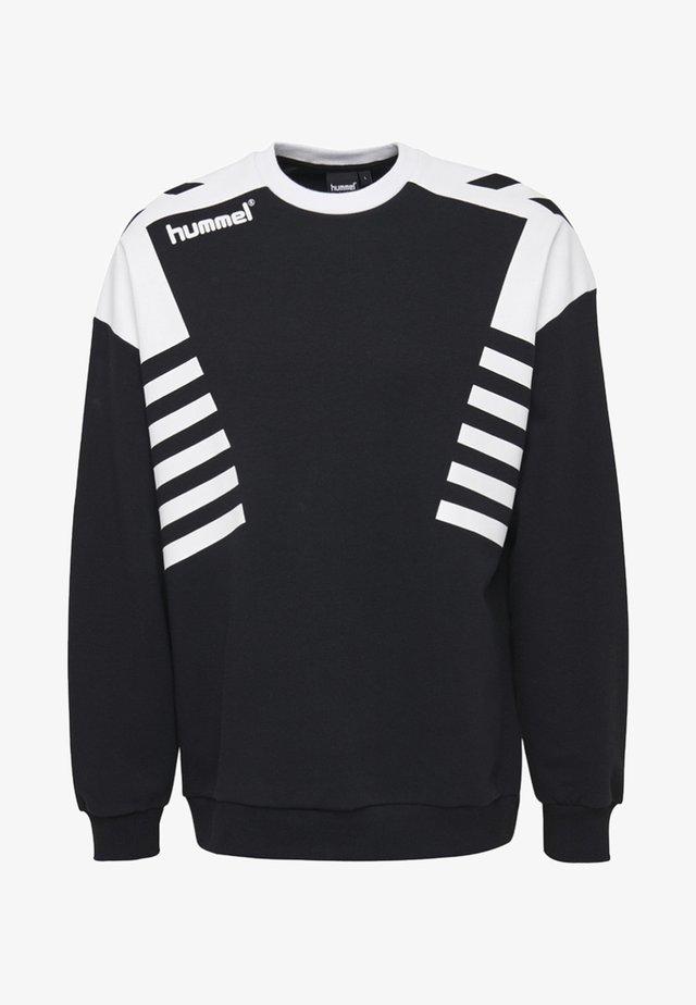 HIVE HMLCARL-OTTO SWEATSHIRT - Sweatshirt - black