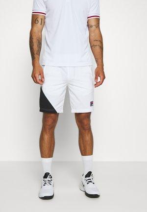 SHORT NICOLAS - Sportovní kraťasy - white
