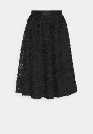 ROBINA - A-line skirt - anthracite black