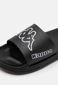 Kappa - KRUS UNISEX - Rantasandaalit - black/white - 5