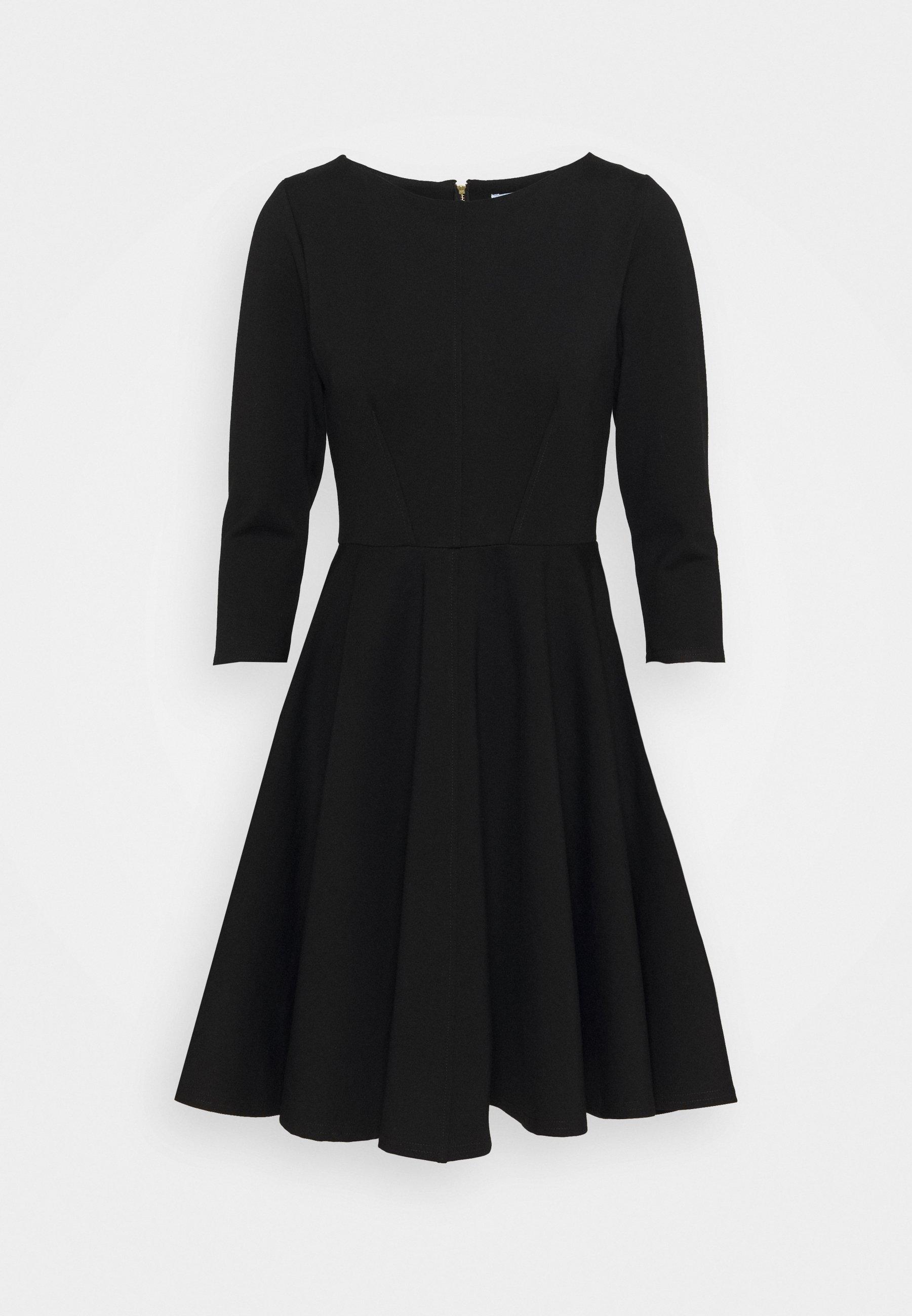 Women 3/4 SLEEEVE SKATER DRESS - Jersey dress