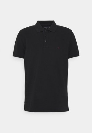 CONTRAST PLACKET REGULAR - Poloshirts - black