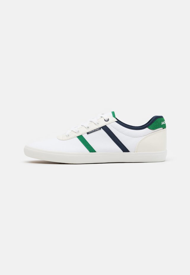JFWLOGAN  - Sneakersy niskie - white/green/navy