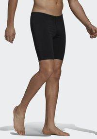 adidas Performance - PRO SOLID JAM POOL PRIMEGREEN SWIM SPORTS COMPRESSION JAMMER - Swimming trunks - black - 2