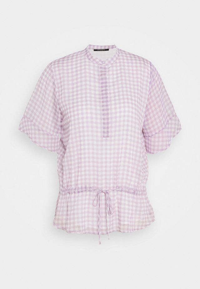 CHECKS BEATRICE - Blouse - lavender
