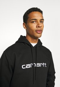 Carhartt WIP - HOODED - Sweatshirt - black/white - 3