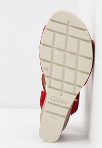 Gabor Comfort - Wedge sandals - rubin - 6