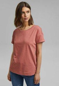 Esprit - Basic T-shirt - blush - 0