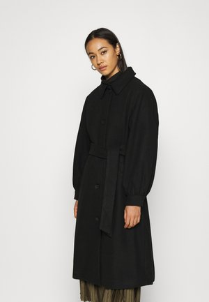 ROSIE COAT - Kåpe / frakk - black dark