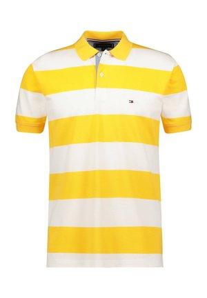 BLOCK STRIPE REGULAR POLO - Polo shirt - gelb (31)
