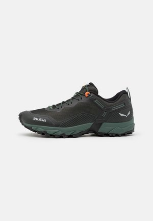MS ULTRA TRAIN 3 - Trail running shoes - raw green/black out