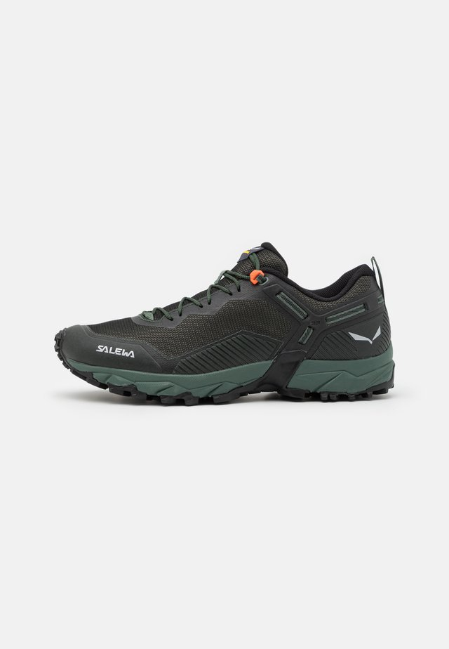 MS ULTRA TRAIN 3 - Chaussures de running - raw green/black out