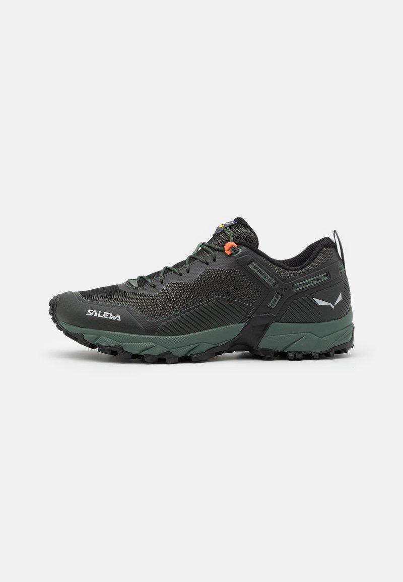 Salewa - MS ULTRA TRAIN 3 - Trail running shoes - raw green/black out