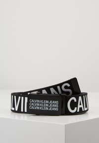 Calvin Klein Jeans - BOYS BASIC BELT - Pásek - black - 0