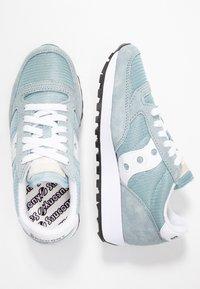 Saucony - JAZZ VINTAGE - Trainers - light blue/white - 3