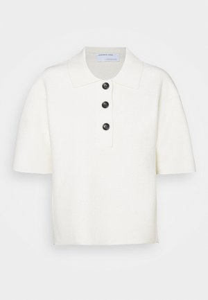 LUCCA BLOUSE - Polo shirt - cream
