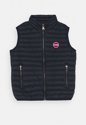 GILET JUNIOR UNISEX - Waistcoat - navy blue/light steel