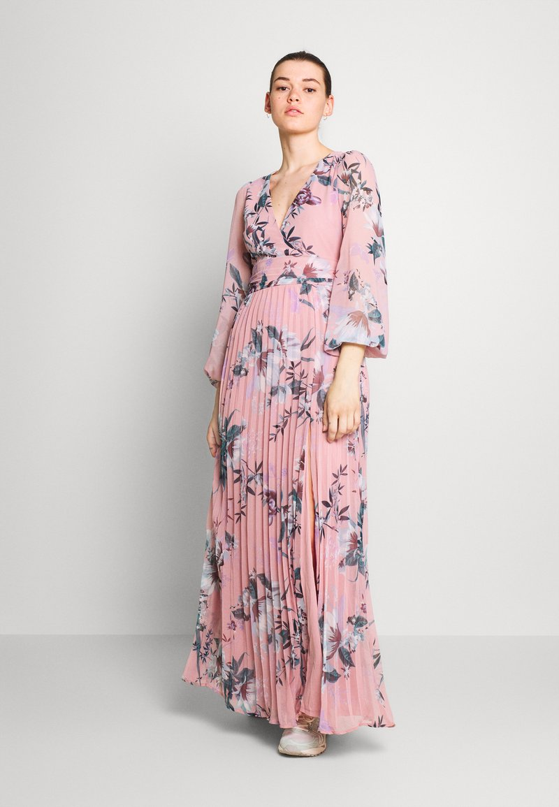 Nly by Nelly - IN LOVE WRAP GOWN - Maxi šaty - multicoloured