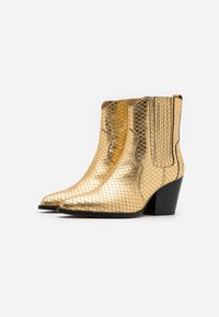 Toral - Cowboy/biker ankle boot - roy vacuno gold - 2