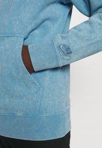 Nike Sportswear - HOODIE WASH - Hoodie - light blue - 3