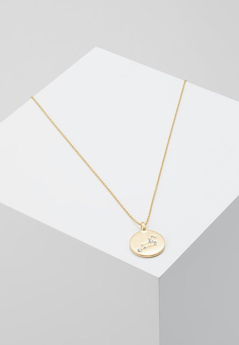 Pilgrim - LEO - Naszyjnik - gold-coloured/crystal