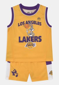 Outerstuff - NBA LOS ANGELES LAKERS SPACE JAM  ZONE DEFENSE SET UNISEX - Tracksuit - yellow - 0