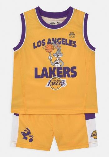 NBA LOS ANGELES LAKERS SPACE JAM  ZONE DEFENSE SET UNISEX - Tracksuit - yellow