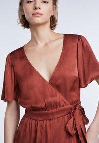 SET - Day dress - terracotta - 4