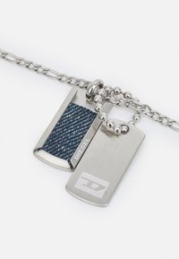 Diesel - DOUBLE DOGTAGS - Ketting - silver-coloured - 2