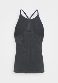 Casall - SHINY ALLIGATOR SEAMLESS STRAP TANK - Top - shadow grey - 6