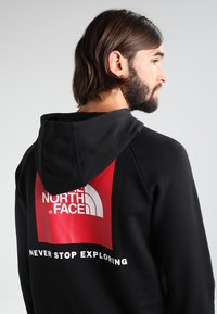 The North Face - REDBOX HOODIE - Hoodie - black - 5