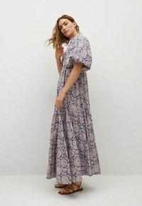 Mango - Długa sukienka - bleu - 3