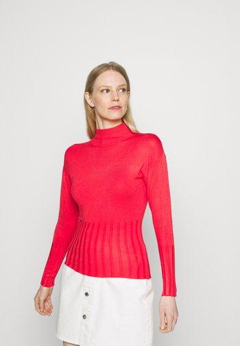 DEEP CUFF FUNN - Stickad tröja - red