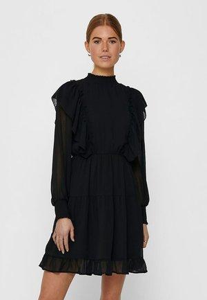 ONLJENNIFER FLOUNCE DRESS - Day dress - black