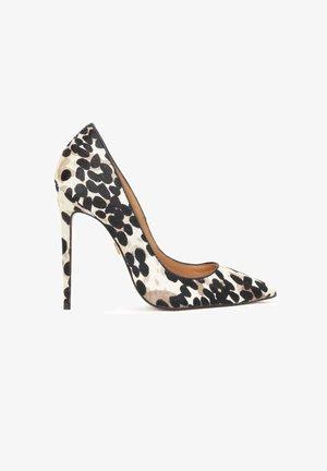 NATALIE  - High heels - black, beige