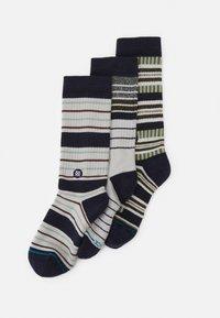 Stance - PROPER 3 PACK - Socks - blue - 0