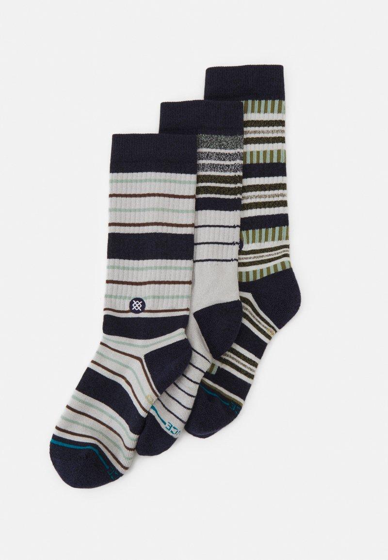 Stance - PROPER 3 PACK - Socks - blue