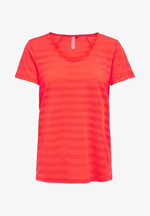 ONPSUE TRAINING TEE - Sports shirt - fiery coral