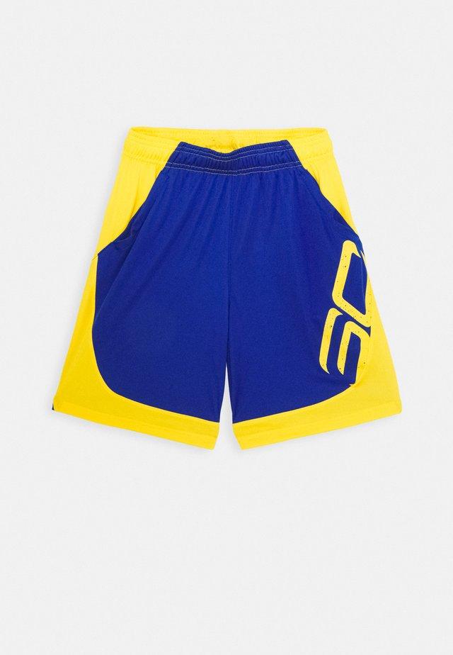 CURRY BOYS BASKETBALL SHORT - Sportovní kraťasy - royal