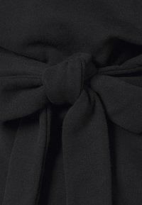 NU-IN - BELTED LONG SLEEVE - Sweatshirt - black - 2