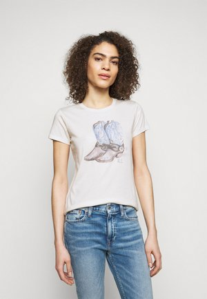 BOOT SHORT SLEEVE - T-shirt con stampa - nevis