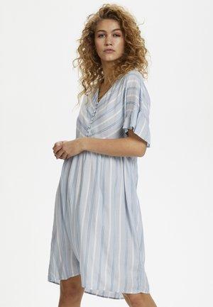 DHSIGGE - Blusenkleid - light blue
