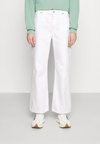Monki - Široké džíny - white light - 0