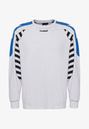 HIVE HMLCALVIN T-SHIRT L/S - Langarmshirt - white