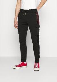 Glorious Gangsta - ARLON JOGGERS - Pantaloni sportivi - black - 0