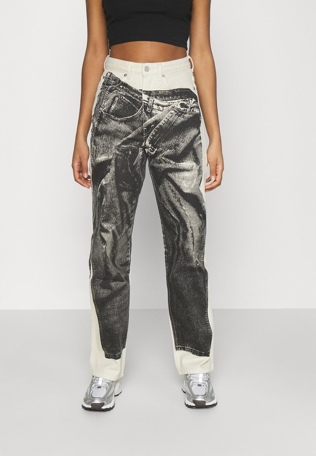 ROWE JEANS TROMP PRINT - Jeans a sigaretta - tromp