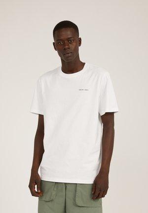 AADO POOL - T-shirt print - white
