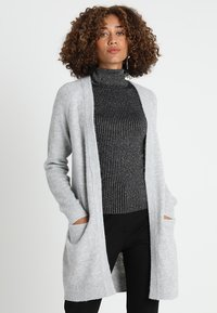 Zalando Essentials - Cardigan - mottled light grey - 0